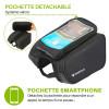 pochette smartphone détachable pour vélo