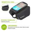 pochette smartphone résistante à l'eau pour vélo
