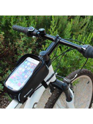 sacoche de vélo avec emplacement smartphone - wantalis