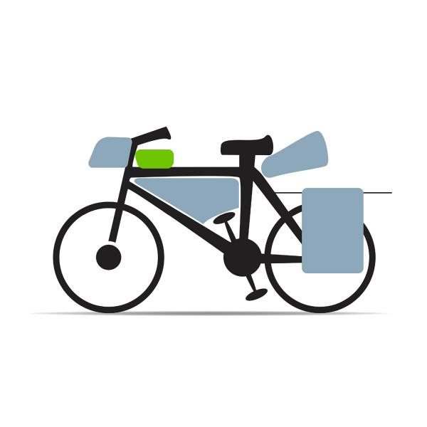 schéma sacoche vélo